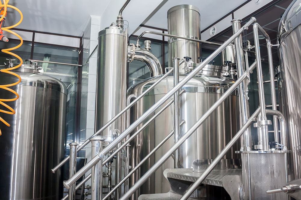 Tanks and pipework